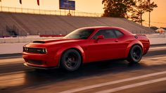 2018 Dodge Demon Leaked Image: Will It Have Over 1,000 HP? Revealed Apr 11th, 2017 8pm EST. Please come back to TFLnow for live official debut of the car.