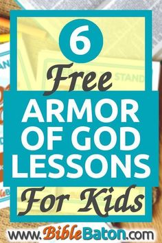 Teaching the Armor of God for kids? Use these free printable lessons for preschool to elementary kids--perfect for VBS Sunday School children's ministry or homeschool/family devotions. You'll also get craft ideas hands-on activities games and more! Bible Lessons For Kids, Bible For Kids, Children Church Lessons, Primary Lessons, School Children, Young Children, Armor Of God Lesson, Scripture Memorization, Bible Study Guide