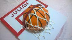 PATHALMA :  Patricia y Pablo: Torta Pelota de Basquet, Pastel de Basketball