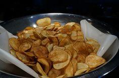Air Fryer Potato Chips by Oil Free Frying Air Fryer Potato Chips, Air Fry Potatoes, Air Fryer Chips, Power Air Fryer Recipes, Air Fryer Oven Recipes, Power Air Fryer Xl, Air Fryer Recipes Potatoes, Nuwave Air Fryer, Cooks Air Fryer