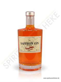 Boudier Saffron Gin. This sounds sinful. I must get my hands on a bottle...
