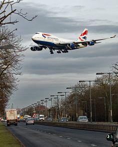 British Airways Boeing 747-436