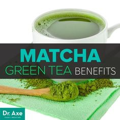 Matcha green Tea benefits from weight loss to cancer prevention.