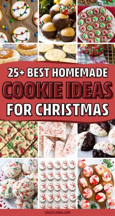 Whether you want to make those classic holiday cookies or you're looking for something new, these super tasty Christmas cookie recipes will help you make yours perfect! Christmas Snacks, Xmas Food, Christmas Cooking, Christmas Kitchen, Christmas Holiday, Best Christmas Cookie Recipe, Christmas Cheesecake, Holiday Cookies, Easy Holiday Desserts