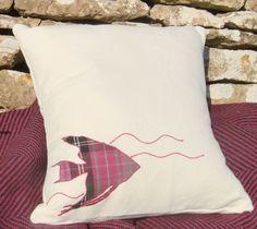 Pink Angel Fish Cushion £38.00