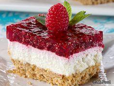 Sweet 'n' Salty Raspberry Bars | mrfood.com