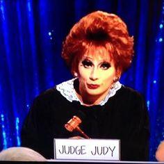 Bianca del Rio as Judge Judy