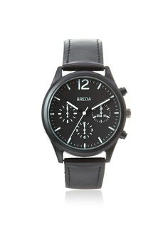 Breda Men's 2369 James Pilot Black Alloy Watch at MYHABIT $26
