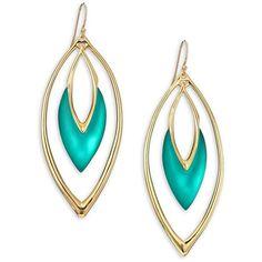 Alexis Bittar Sport Deco Lucite Orbit Drop Earrings ($150) ❤ liked on Polyvore featuring jewelry, earrings, apparel & accessories, drop earrings, vintage lucite jewelry, diamond earrings, womens jewellery and sport earrings