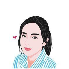 Sandara Park Fanart by annejiyongi Instagram.com/annejiyongi Art   K-pop fanart   K-Pop   Vector   Vector Illustrations   Drawing   Digital Drawing   Painting   Digital Painting   2ne1   Vector Art   Illustration