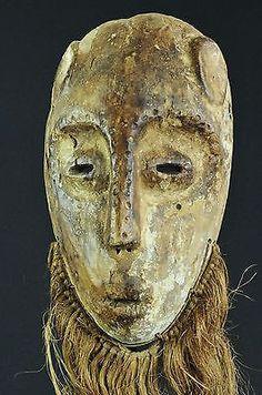 VENDU / SOLD Masque LEGA  - Bwami  - Mask- Congo RDC