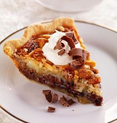 Top off your Thanksgiving feast with our recipes for pumpkin pie, apple crisp, pecan bar cookies, praline layer cake and other holiday favorites.