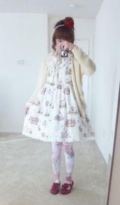 "chechecat: "" A timeline of my favorite 2015 lolita outfits! One of my resolutions for 2016 is to wear lolita more often and to work pieces of my wardrobe into a more casual, everyday style. This year I've been able to find my own sense of style and..."
