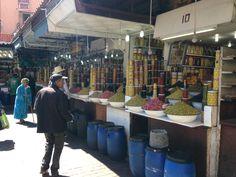 Tiendas de encurtidos Marrakech, Pickling, Tents