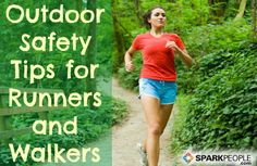If you run or walk outside, whether you're experienced or a novice, these are some great tips to help you stay SAFE: Important Safety Tips for Outdoor Runners and Walkers | via @SparkPeople #fitness #exercise #workout