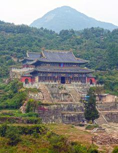 Five Dragon Temple, Wudang Mountains, Hubei, China