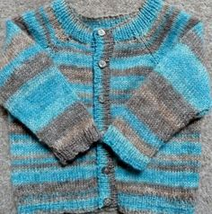 Summer cardigan in blues and browns £16.00