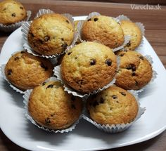 Jednoduché+kokosové+muffiny+(fotorecept) Cake Recipes, Ale, Cupcakes, Breakfast, Food, Basket, Morning Coffee, Cupcake Cakes, Easy Cake Recipes