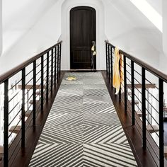 Entry rug - Positive Slant - Titanium