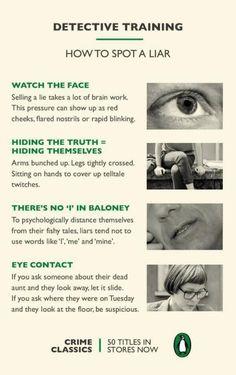 Detective Training | How To Spot A Liar | 1000 Life Hacks
