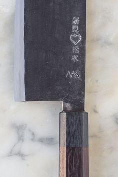Takeda Hamono Nakiri Knife BUY FROM HERE: http://www.takedahamono.com/english/english.pdf (not the link)