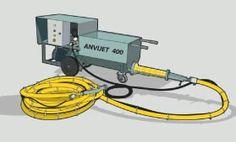 Projetora de argamassa Anvi Jet 400  ( 11 ) 2359-0933 Locação e venda