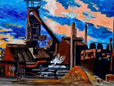 Steel Mill, Cleveland, OH