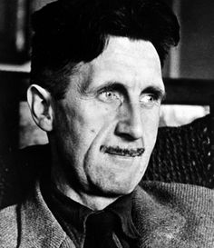 """George Orwell, (1903-1950) among his many books were """"Ninteen Eighty Four"""" and Animal Farm"""""""