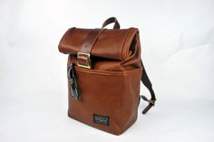 New all Leather Backpack now available – Motley Goods