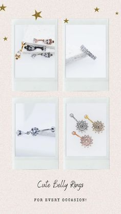 In need of a new belly ring? We've got something for that!