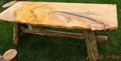 Freak of Nature Log Furniture   Log Tables 3 www.freakofnaturelogfurniture.com