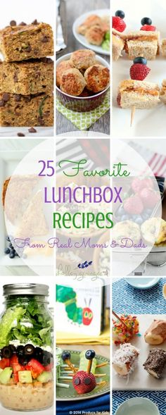 25 Favorite Lunchbox