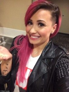 Demi Lovato goes all punk rock with new look and attitude - Hollywood News Daily
