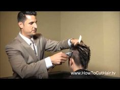 How To Cut A Mohawk - Part 4 - Fading,Tapering, Blending With Clippers Added on Hb by Greg Zorian