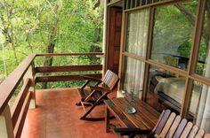 jungle beach hotel balcony   - Costa Rica