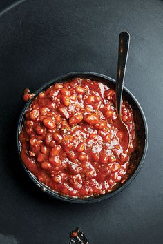 Barbecued Baked Beans:   These classic baked beans are a barbecue side-dish staple. This recipe first appeared in our June/July 2011 BBQ issue. [click for recipe]