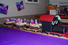 Chuggington Cupcake train