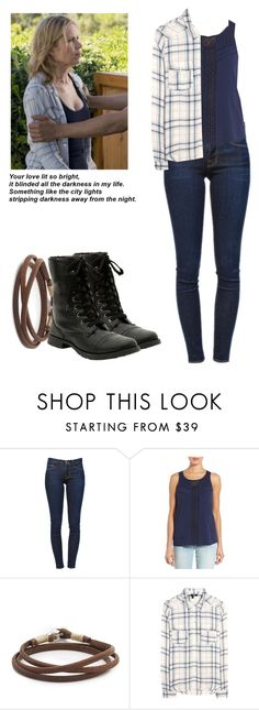 """Madison Clark - ftwd / fear the walking dead"" by shadyannon ❤ liked on Polyvore featuring Frame Denim, Caslon, Caputo & Co. and Paige Denim"