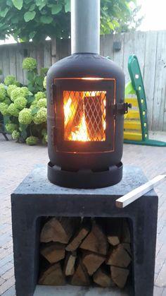 Gas Bottle Bbq, Gas Bottle Wood Burner, Rim Fire Pit, Metal Fire Pit, Patio Gazebo, Pergola, Backyard, U Element Beton, Garden Wood Burner