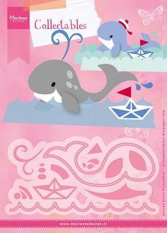 Marianne Design - Die - Collectables - Eline`s Whale - COL1430 Knutselruimte AGUINIJ
