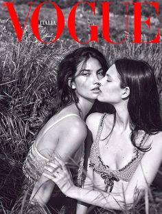 Mert & Marcus for Vogue Italia September 2017 Covers