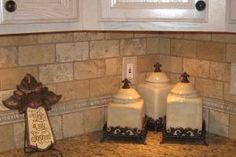 Kitchen Backsplash Designs Travertine: Tumbled Travertine Backsplash Traditional Kitchen Other Metro