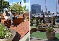 Conheça os parklets: as extensões temporárias que promovem uma renovação dos espaços públicos.
