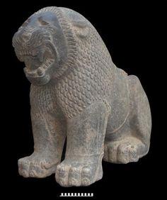 Neo-Hittite lion statue found in Turkey