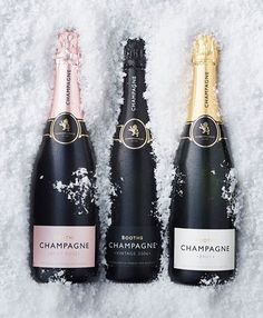 Booths champagne packaging design by smithandvillage