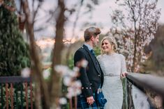 We have two blossom trees that sit in front of the Buddon Burn Suite, creating a gorgeous pastel pink backdrop to Spring ceremonies. Photograph by Burfly Photography.