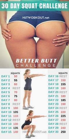 The 30 Day Squat Challenge Butt Transformation System is designed to teach you the correct and safe way of doing the most effective workout for building a round, lifted butt. These exercise will lift, build and shape your booty fast. You may start seeing results after the first week! Quieres aumentar el tamaño de tus gluteos de manera NATURAL, segura y garantizada en menos de 4 semanas? Ahora existe un metodo que te ayudara a que puedas lograrlo. Conoce el metodo aqui:
