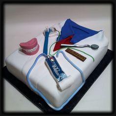 Lovely Dentist, Dental Assistant or Orthodontist cake