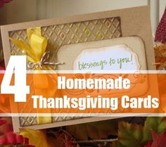 How To Make Homemade Thanksgiving Cards