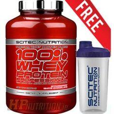 Attrezzi Fitness da Casa: Scitec Nutrition 100% Whey Protein professional 92...